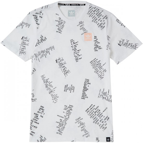 Adidas Gonz Pack AOP Poet T-Shirt - White