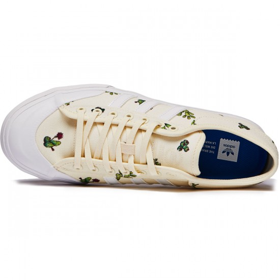 Adidas Matchcourt Shoes - Cactus/White/Gum - 8.0