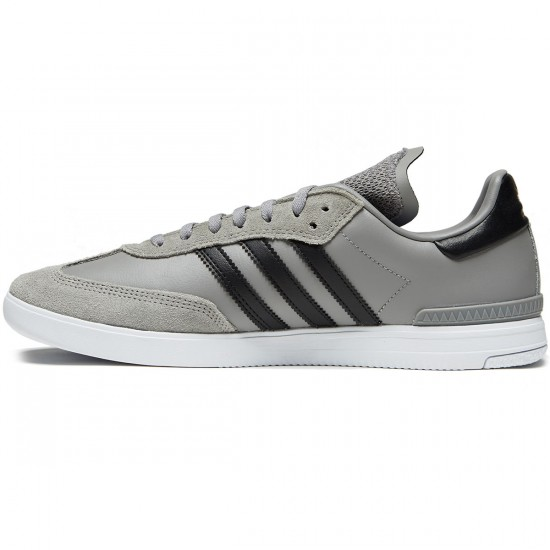 Adidas Samba ADV Shoes - Solid Grey/Core Black/White - 6.0