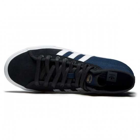 Adidas Matchcourt High RX Shoes - Collegiate Navy/White/Core Black - 6.0