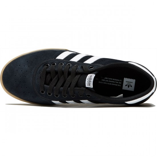 Adidas Lucas Premiere Shoes - Core Black/Core Black/Gum - 10.0