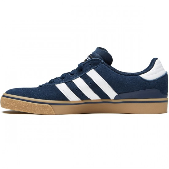 Adidas Busenitz Vulc Adv Shoes - Collegiate Navy/White/Gum - 6.0