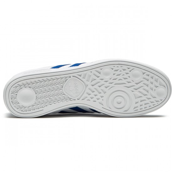 Adidas Busenitz Shoes - White/Collegiate Royal/White