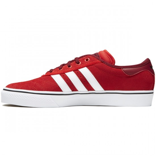Adidas X Bonethrower Adi-Ease Premiere Shoes - Red/White/Collegiate Burgundy - 9.0