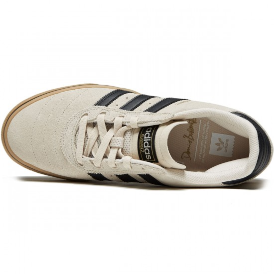 Adidas Busenitz Vulc Adv Shoes - Clear Brown/Core Black/Gum - 8.5