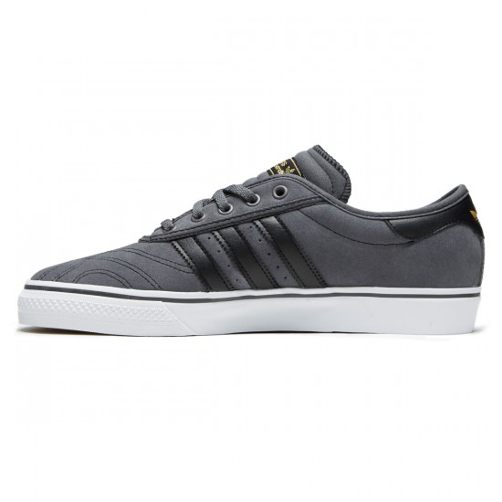 Adidas Adi-Ease Premiere Shoes - Grey/Core Black/White - 6.0