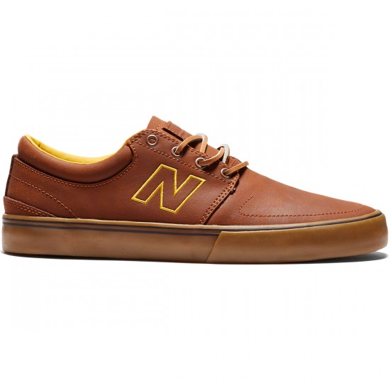 New Balance Brighton 344 Shoes - Brown/Gum - 8.0