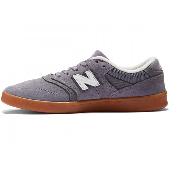 New Balance 598 Shoes - Grey/Grey/Gum - 8.0