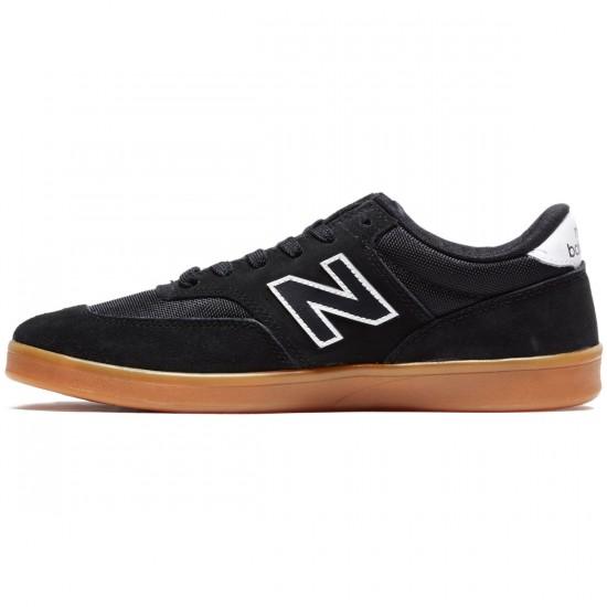 New Balance Allston 617 Shoes - Black/Gum/White - 8.0