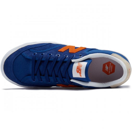New Balance Pro Court 212 Shoes - Royal/Orange/White - 8.0
