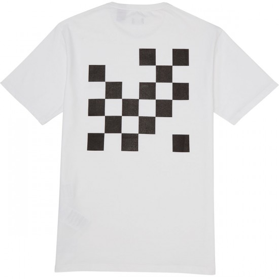 Levis Graphic T-Shirt - Gothic Checkers White