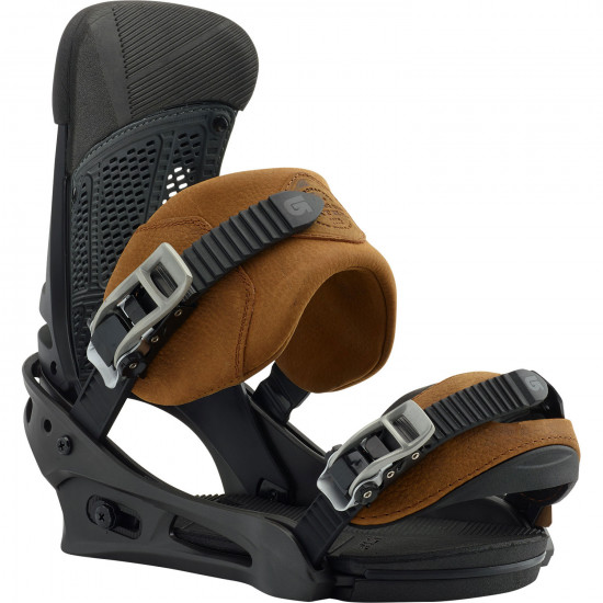 Burton Malavita Leather 2019 Snowboard Bindings