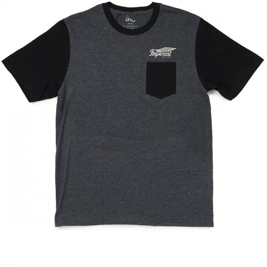 Imperial Motion Road King T-Shirt - Charcoal/Black