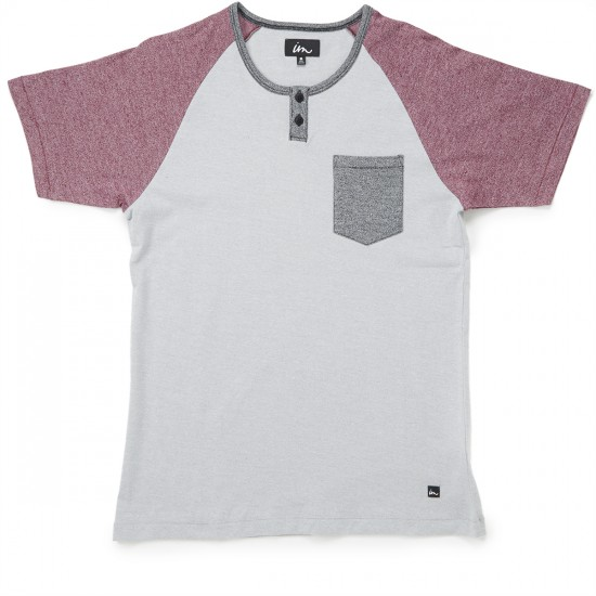 Imperial Motion Lefty Henley T-Shirt - Grey