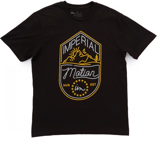 Imperial Motion Camp T-Shirt - Black