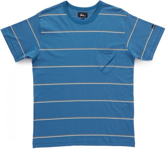 Imperial Motion Squints Pocket T-Shirt - Indigo