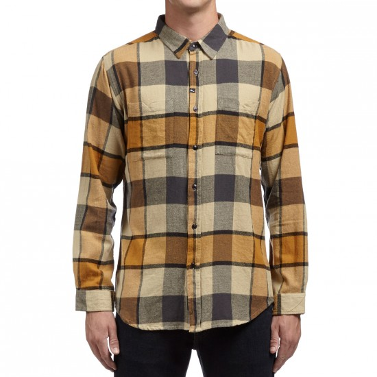 Imperial Motion Hanson Flannel Shirt - Gold