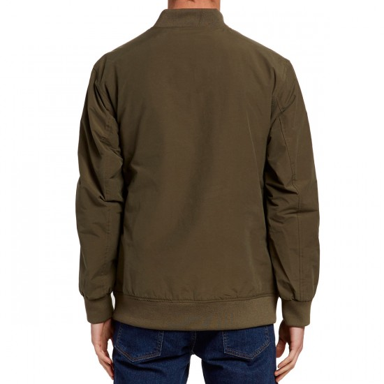 Imperial Motion Jackson Bomber Jacket - Army