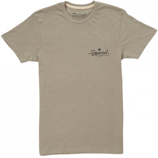 Imperial Motion Industry T-Shirt - Stone Heather