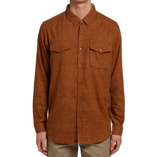 Imperial Motion Canby Flannel Shirt - Tobacco