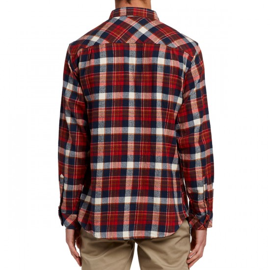 Imperial Motion Cushman Flannel Shirt - Red/Navy