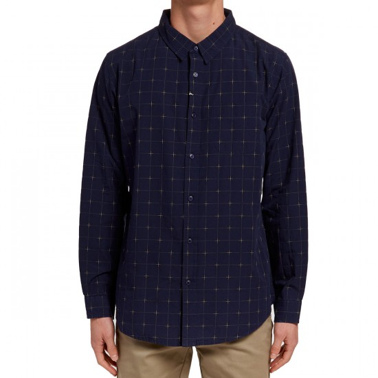 Imperial Motion Gallager Long Sleeve Shirt - Navy