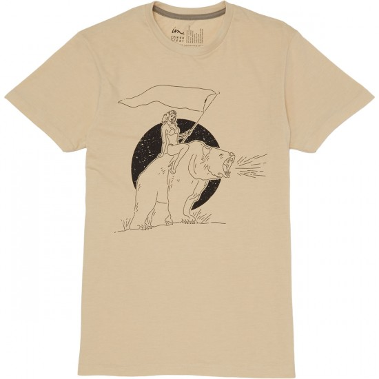 Imperial Motion Free Ride T-Shirt - Creme