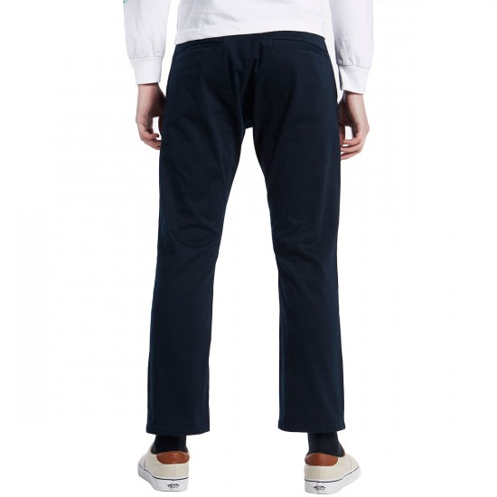 Imperial Motion Federal Cropped Chino Pants - Navy - 30 - 32