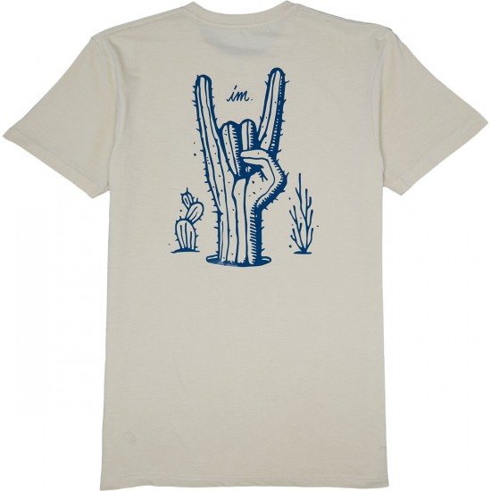 Imperial Motion Cactus T-Shirt - Creme