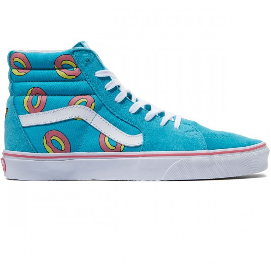 Vans X Odd Future SK8-HI Shoes - Future Donut/Scuba Blue - 7.0