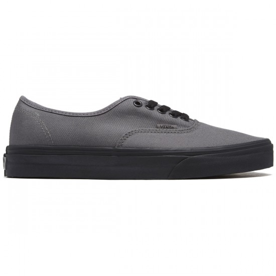 Vans Original Authentic Shoes - Pop Outsole Pewter/Black - 8.0