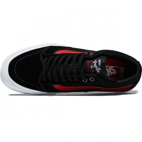 Vans TNT SG Shoes - Black/Racing Red - 8.0