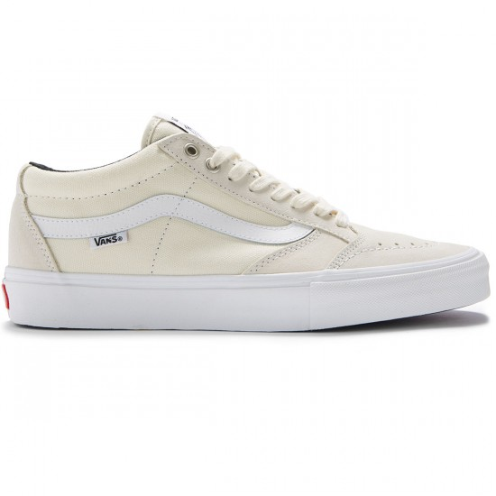Vans TNT SG Shoes - White/White - 8.0
