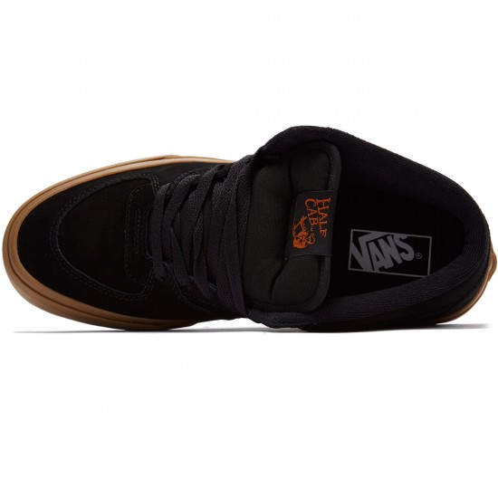 Vans Half Cab Shoes - Black/Black - 8.5