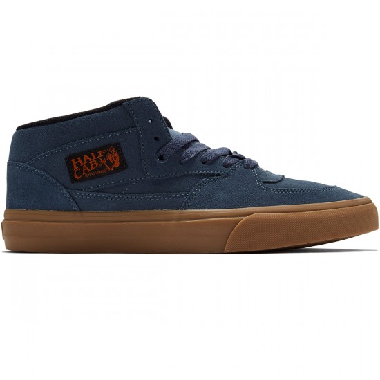 Vans Half Cab Shoes - Dark Slate/Black - 8.0