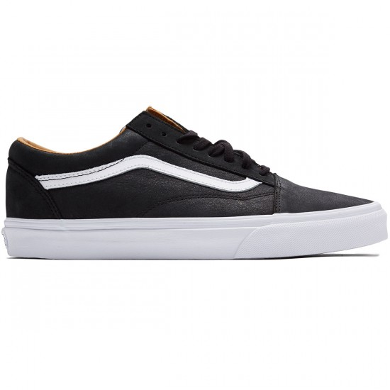 Vans Old Skool Shoes - Black/True White - 8.0