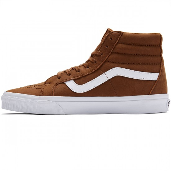 Vans SK8-Hi Reissue Shoes - Daschund/True White - 8.0