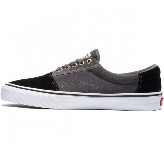 Vans Rowley Solos Shoes - Black/Pewter - 8.0