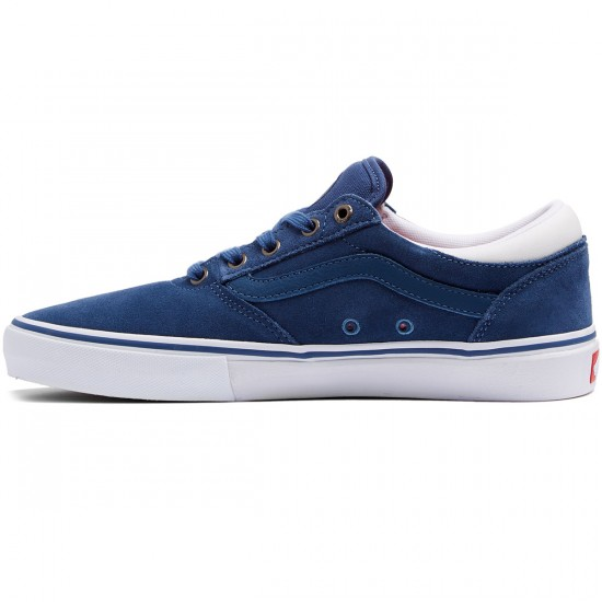 Vans Gilbert Crockett Pro Shoes - Ensign Blue/White - 8.0