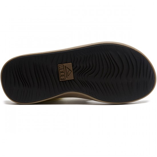 Reef Rover Sandals - Tan/Black - 8.0