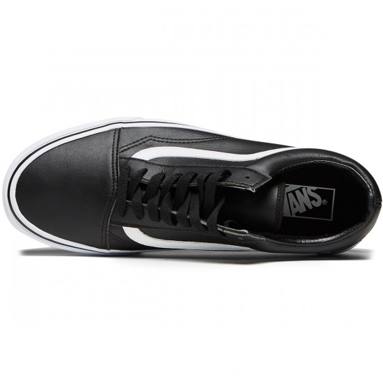 Vans Old Skool Shoes - Classic Tumble Black/True White - 8.0