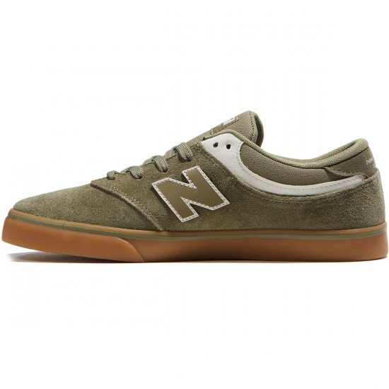 New Balance Quincy 254 Shoes - Olive/Gum - 8.0