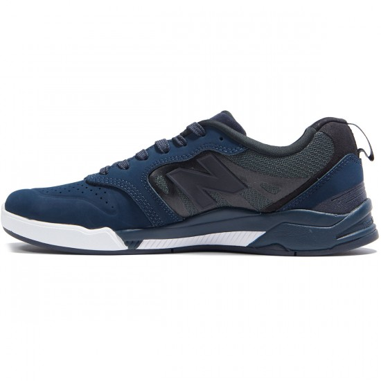 New Balance Numeric 868 Shoes - Obsidian/White