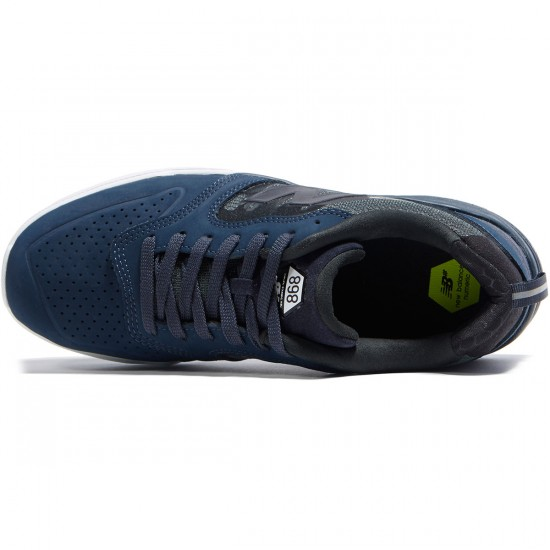 New Balance Numeric 868 Shoes - Obsidian/White - 8.0