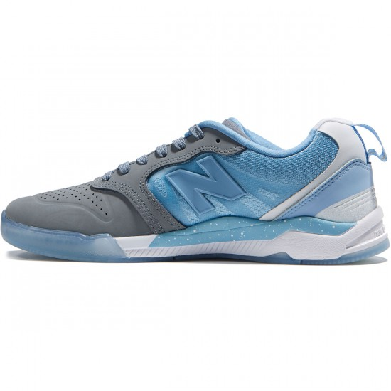 New Balance Numeric 868 Shoes - Gunmetal/Heritage Blue - 8.0