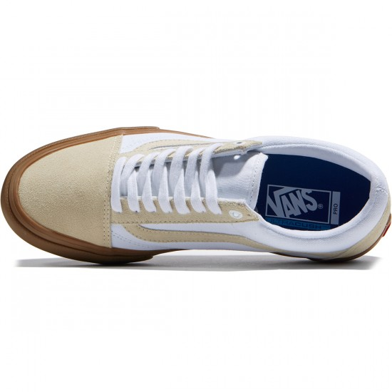 Vans Old Skool Pro Shoes - Turtledove/Gum - 6.5
