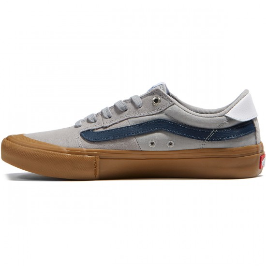 Vans Style 112 Pro Shoes - Drizzle/Dress Blues/Gum - 6.5