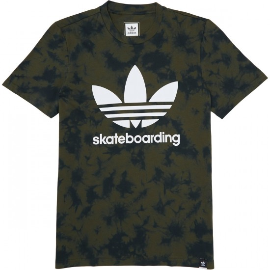 Adidas Clima 3.0 Crystal T-Shirt - Night Cargo/Jungle Ink