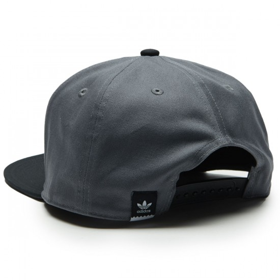 Adidas 2 Tone Snapback Hat - Grey Three