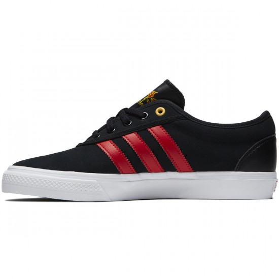 Adidas adi Ease Shoes - Black/Scarlet /White